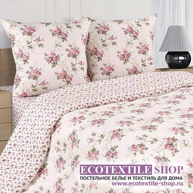 Постельное белье Ecotex Poetica Роза персидская на резинке (размер 2-спальный)