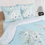 Постельное белье Ecotex Poetica Сен-Мишель на резинке (размер 2-спальный)