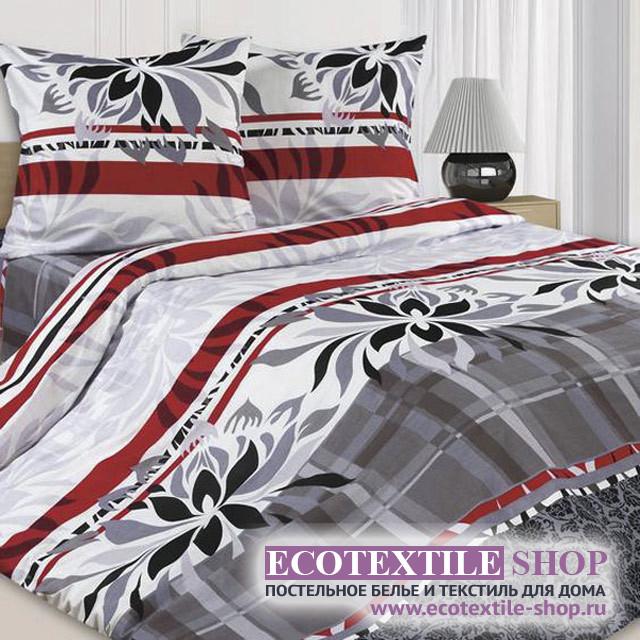 Постельное белье Ecotex Poetica Шанель (размер 1,5-спальный)