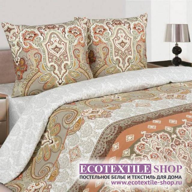 Постельное белье Ecotex Poetica Шоколад (размер семейный)