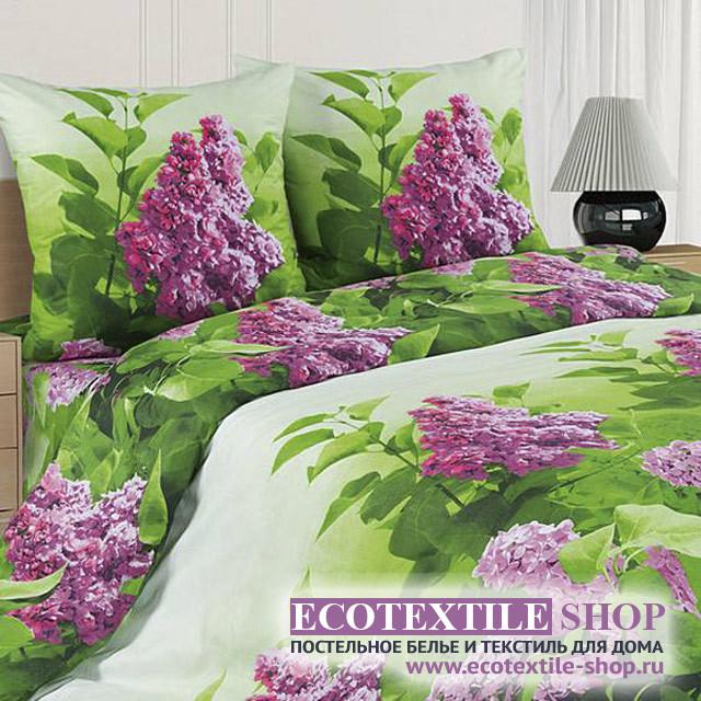 Постельное белье Ecotex Poetica Сирень (размер евро)