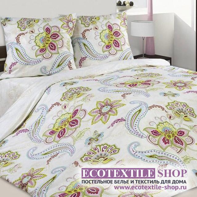 Постельное белье Ecotex Poetica Сударушка на резинке (размер 2-спальный)