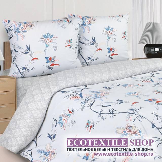 Постельное белье Ecotex Poetica Тет-А-Тет на резинке (размер 2-спальный)