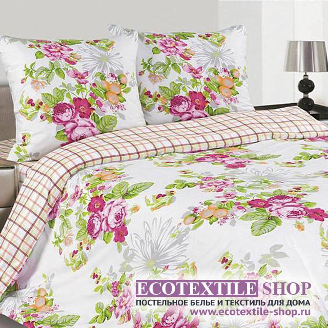 Постельное белье Ecotex Poetica Цветущий сад (размер 1,5-спальный)