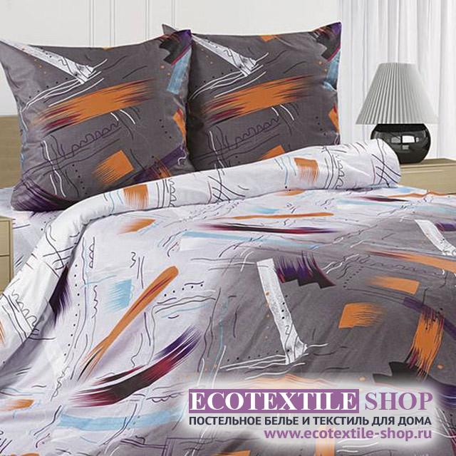 Постельное белье Ecotex Poetica Васаби на резинке (размер 2-спальный)