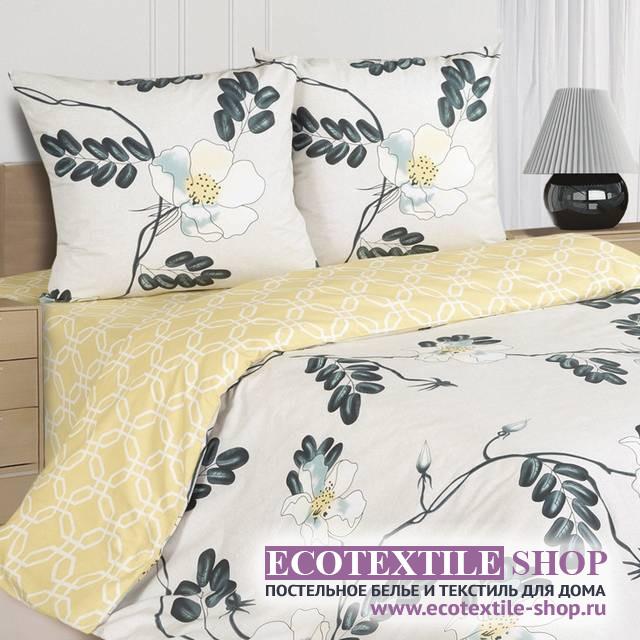 Постельное белье Ecotex Poetica Виола на резинке (размер 2-спальный)