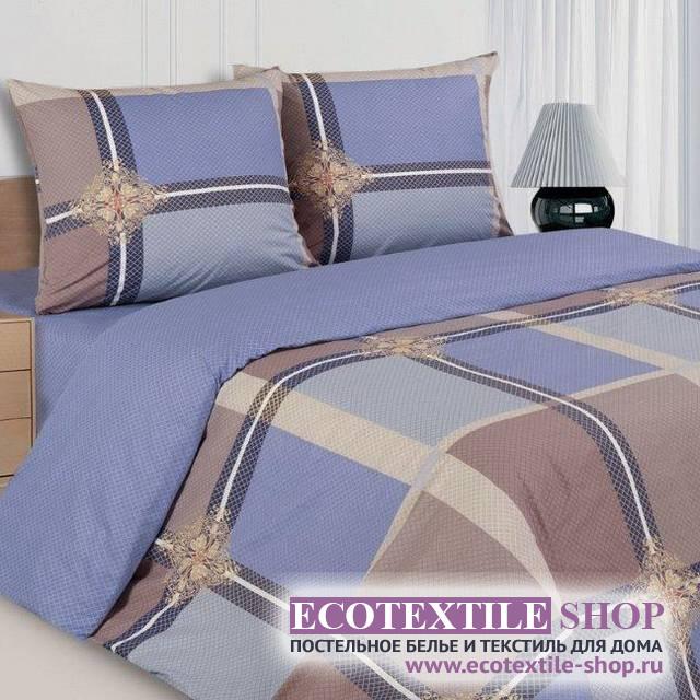 Постельное белье Ecotex Poetica Висконти на резинке (размер евро)