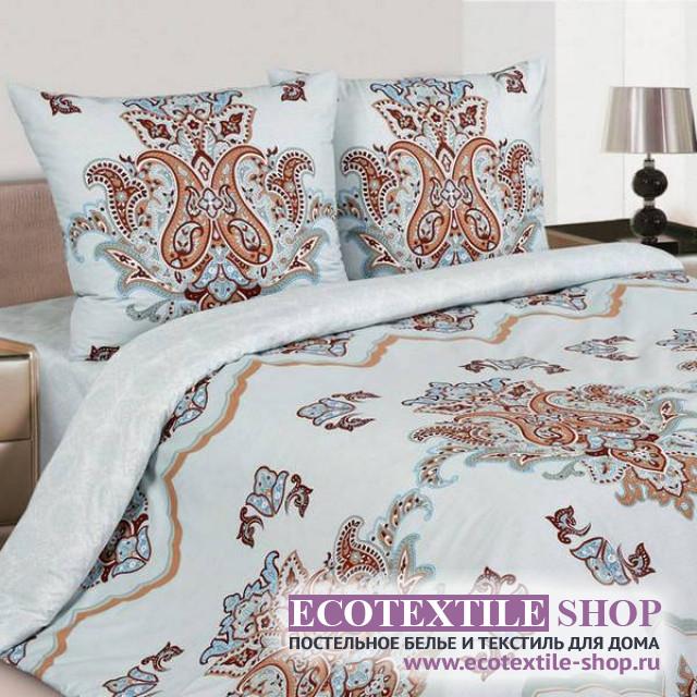 Постельное белье Ecotex Poetica Восточный тюльпан на резинке (размер евро)