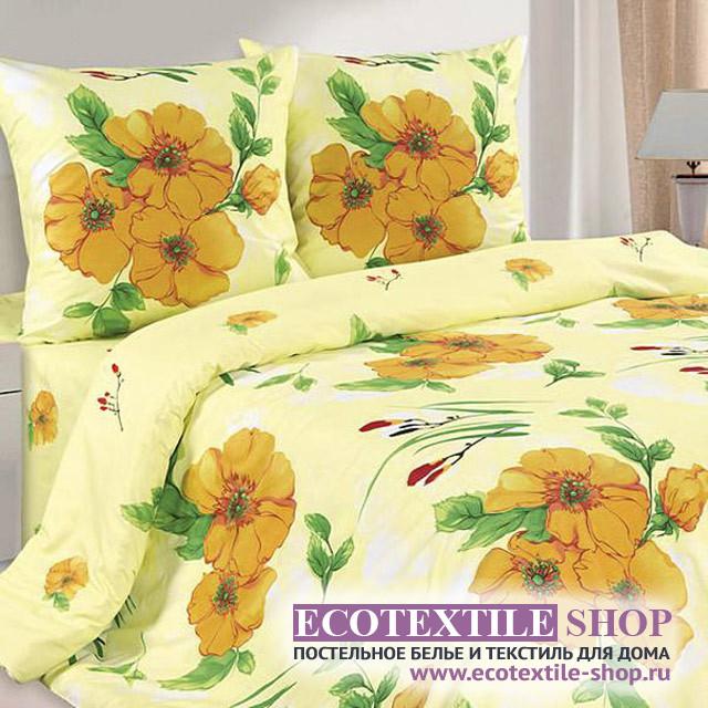 Постельное белье Ecotex Poetica Забава на резинке (размер евро)