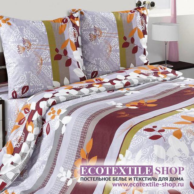 Постельное белье Ecotex Poetica Злата на резинке (размер 2-спальный)