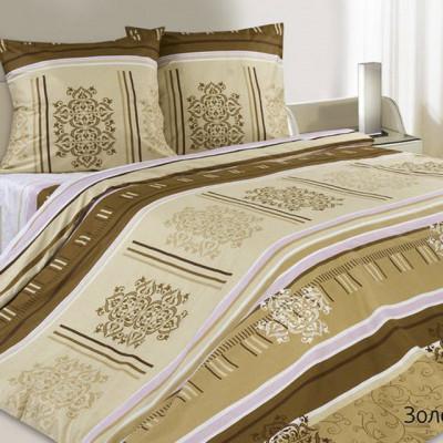 Ecotex Poetica Золотая долина на резинке (размер 2-спальный)
