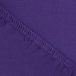 Простыня Ecotex джерси фиолетовая на резинке (размер 200х200 см)