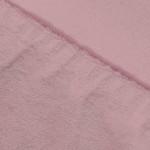 Простыня Ecotex махровая розовая на резинке (размер 160х200 см)